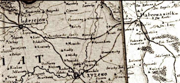 Mapa Karola Pertheesa z 1791 roku