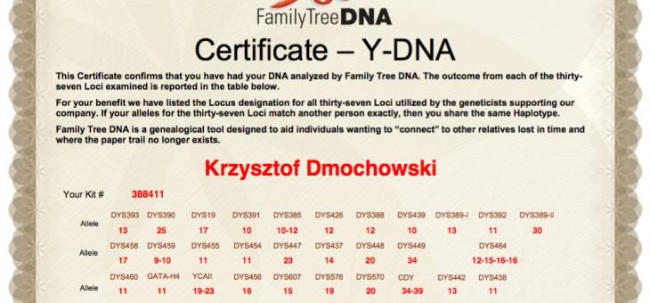 Moja przygoda z genealogią genetyczną